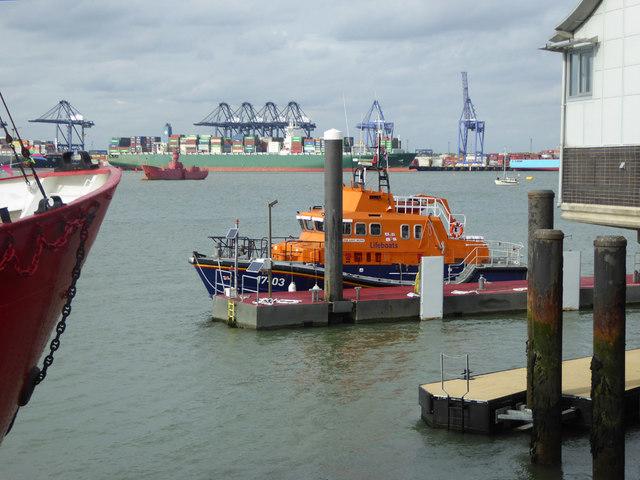 RNLB Albert Brown at Harwich Lifeboat Station