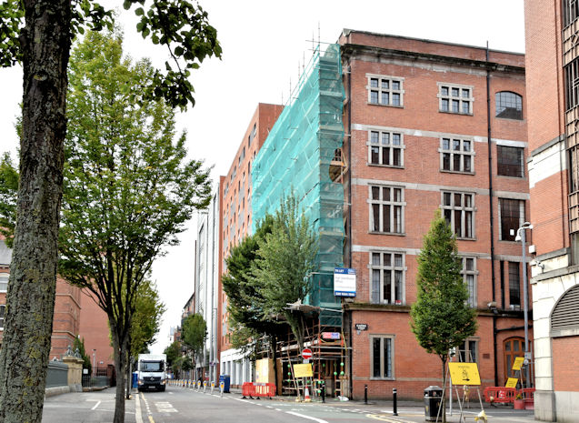 Nos 19-21 Alfred Street, Belfast (September 2018)