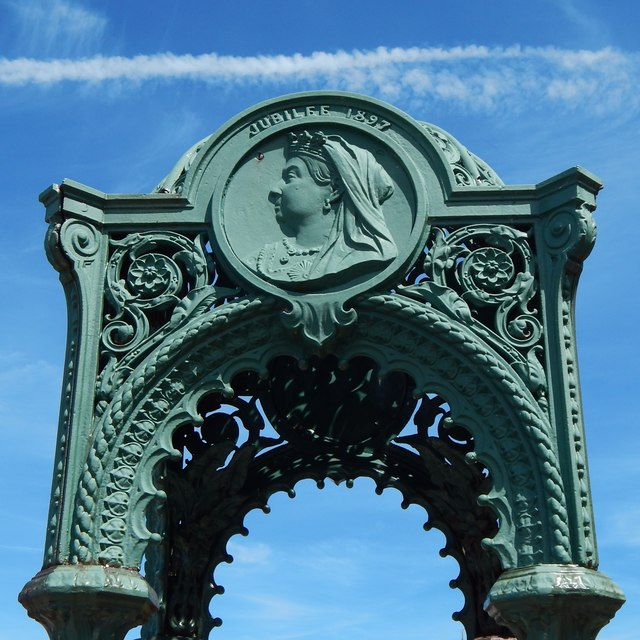 Jubilee Drinking Fountain: detail