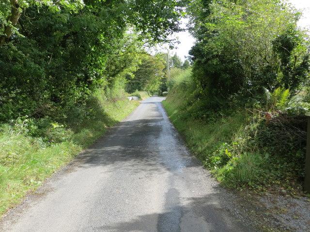 Local road L6520 near Milltown