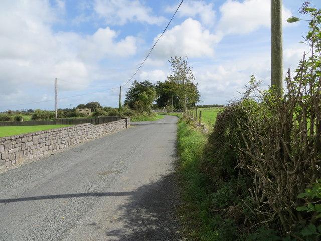 Road near Milltown