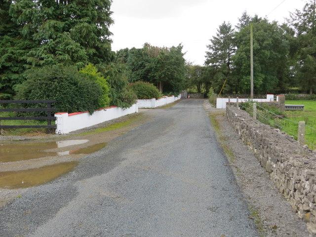 Road near Ballaghabawbeg
