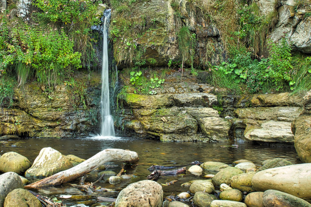 Waterfall, Hayburn Wyke