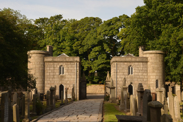 7ecae7edf5b1c Gatehouses at Aberdeen Cathedral