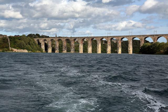 The Royal Border Bridge at Berwick-upon-Tweed