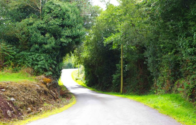 Minor road near Bonane Heritage Park, near Kenmare, Co. Kerry
