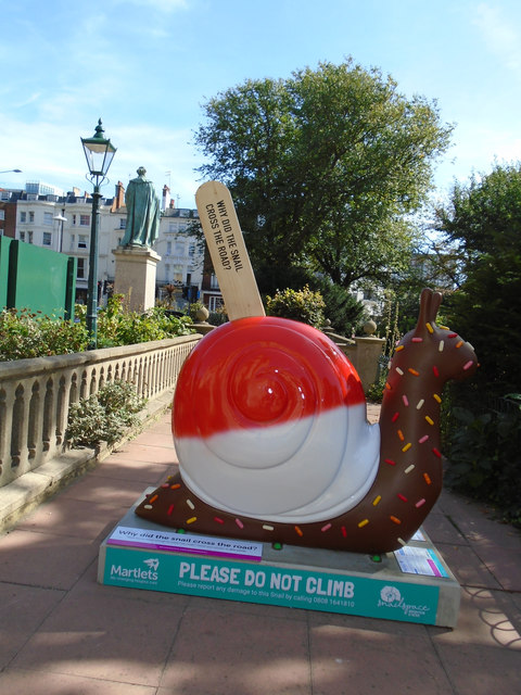 Snailspace #31 Royal Pavilion North Gate