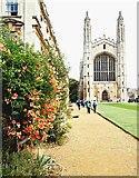 TL4458 : King's College Chapel, Cambridge by David Hallam-Jones