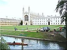 TL4458 : King's College, Cambridge by David Hallam-Jones
