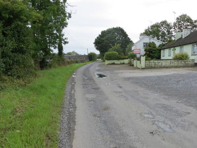 Lane near Newtown