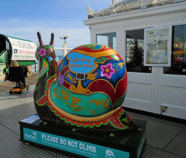 Snailspace #30 Palace Pier
