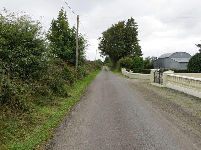 Lane near Caran