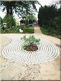 TL4458 : The Xu Zhi Mo Garden, King's College, Cambridge by David Hallam-Jones