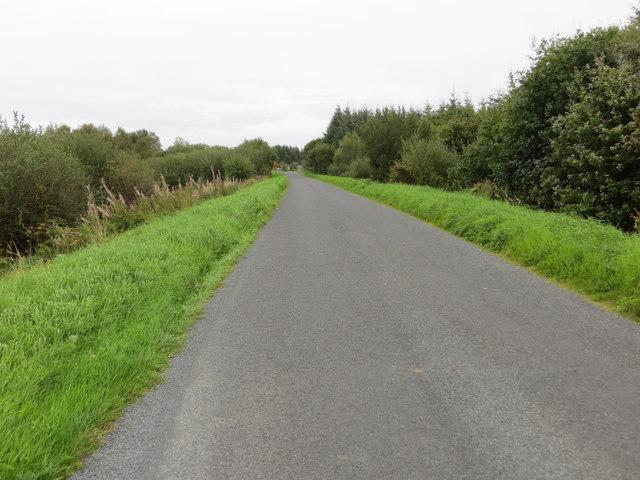 Local road L1612 near Beagh heading towards the N60 road