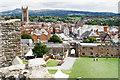 SO5074 : Ludlow from the castle by Bill Boaden