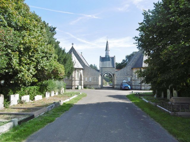Hove, cemetery chapel