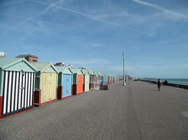 Hove, beach huts