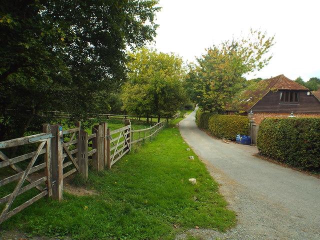 Minor road near Penshurst