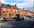 SO9419 : Brick houses, Church Road, Leckhampton, Cheltenham by Jaggery