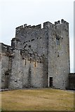 S0524 : North west tower, Cahir Castle by N Chadwick
