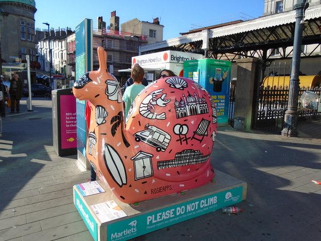 Snailspace #38 Brighton Station