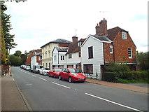 TQ5243 : Penshurst High Street by Malc McDonald