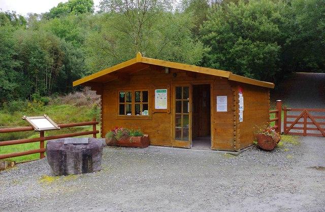 Bonane Heritage Park - ticket office, near Kenmare, Co. Kerry