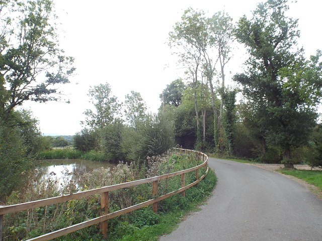 Private road near Penshurst