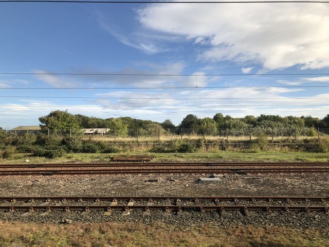 Site of Tweedmouth station and goods yard