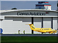 NS4866 : Scottish Air Ambulance at Glasgow Airport by Thomas Nugent