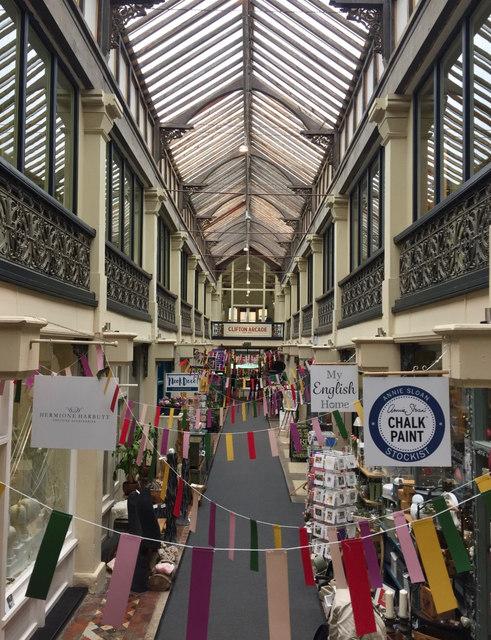 Clifton Arcade, Bristol