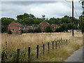 SJ9202 : Farm buildings and barns north of Bushbury Hall by Richard Law