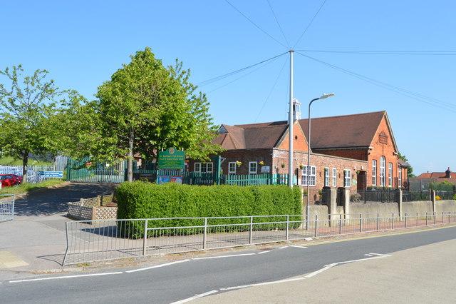 St Matthew's Primary School by N Chadwick