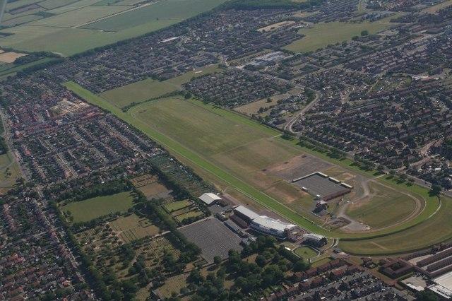 Redcar Racecourse: aerial 2018