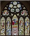 SK9465 : East window, All Saints' church, Hykeham by Julian P Guffogg