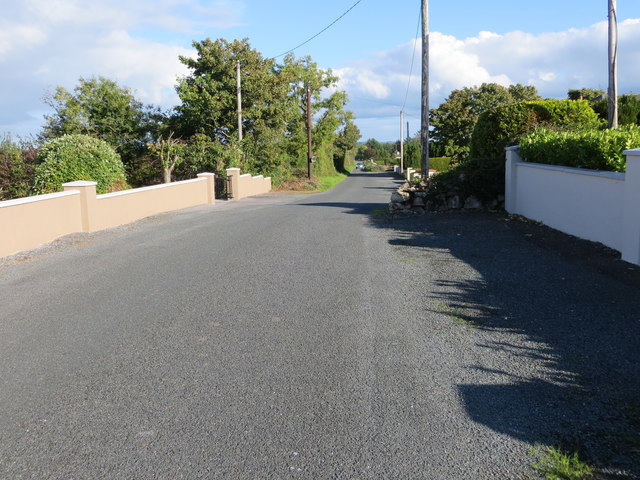 Local road L1612 near Creggaslin