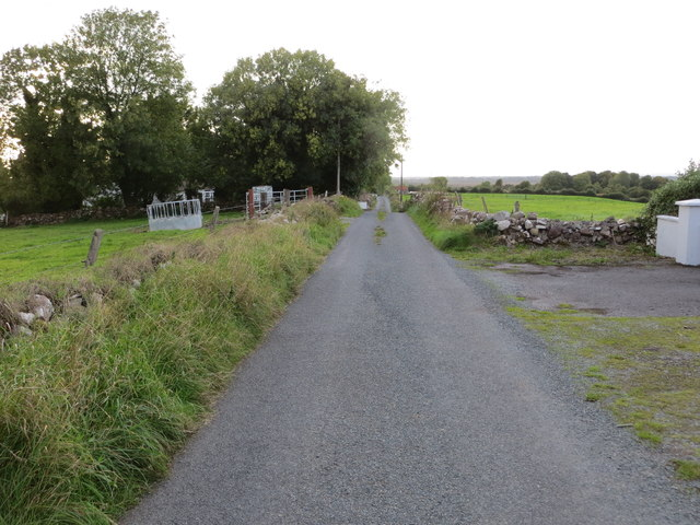 Local road L6539 near Cloonkeen