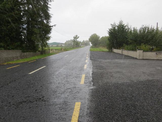 Road R361 between Derreenteige and Creggameen
