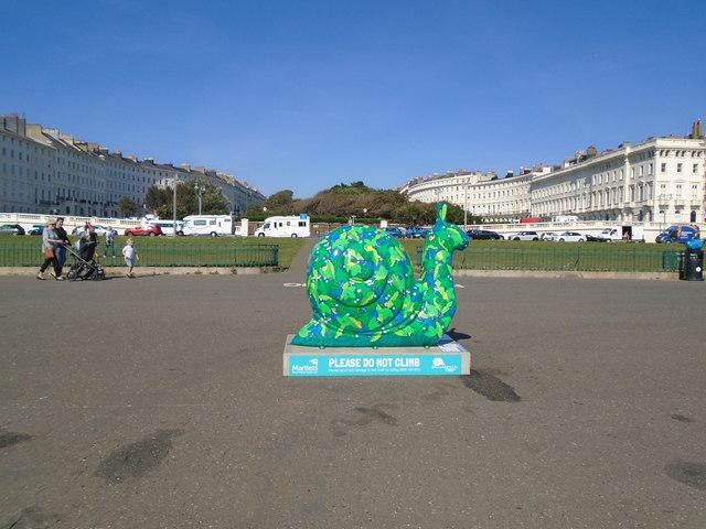 Snailspace #07 Hove Promenade