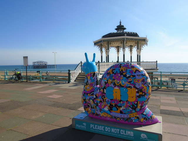 Snailspace #11 Brighton Bandstand