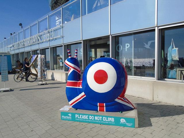 Snailspace #12 Brighton i360