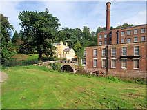SJ8383 : Quarry Bank Mill and House by David Dixon