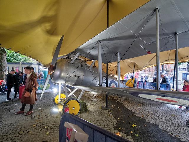RAF 100: Sopwith Snipe at Albert Square
