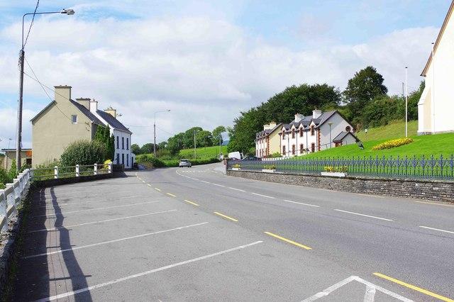 R569 regional road leaving Kilgarvan, Co. Kerry