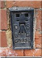 NZ5132 : Ordnance Survey Flush Bracket (S9934) by Adrian Dust