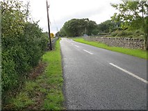 M9560 : Road junction near Bracknagh by Peter Wood
