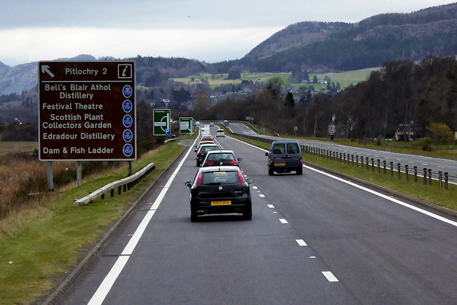 A9 south of Pitlochry