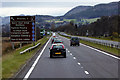 NN9655 : A9 south of Pitlochry by David Dixon
