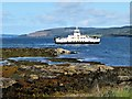 NM6542 : Passing Sgeir Mhor by Andrew Wood