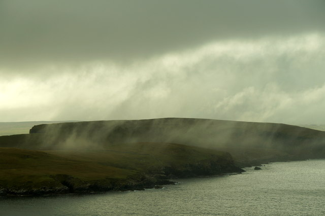 Low cloud over Blue Mull